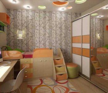 Детская комната 9 кв. м. — 160 фото эксклюзивного зонирования и распределения пространства в детской